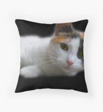 Spooky Eyes!!! Throw Pillow