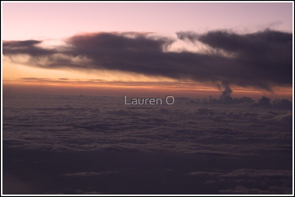 Sunrise in the Sky by Lauren O