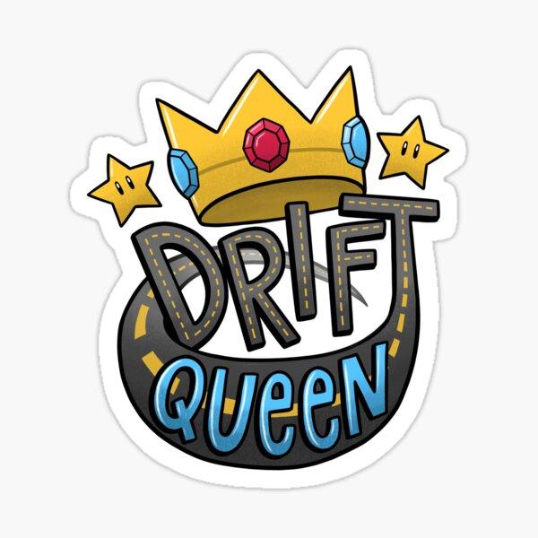 Drift Queen Sticker