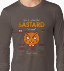 Avoid That Bastard at Work Magazine Long Sleeve T-Shirt