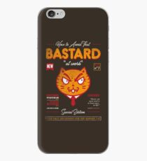 Avoid That Bastard at Work Magazine iPhone Case