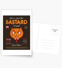 Avoid That Bastard at Work Magazine Postcards