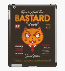 Avoid That Bastard at Work Magazine iPad Case/Skin