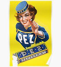 Vintage Pez Ad Poster