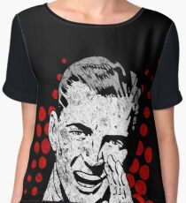 Gay Weiner T Shirt Women's Chiffon Top