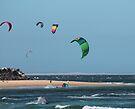 Kite Surfing @ Nobby's by KazM