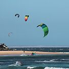 Kite Surfing @ Nobby's by KazM
