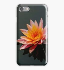 Blooming Pink Lily Pad iPhone Case/Skin