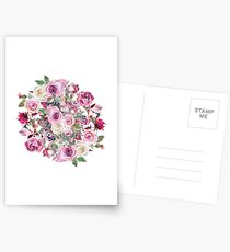 Bouquet of flower - wreath Postcards