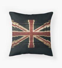 British Flag - Union Jack Throw Pillow