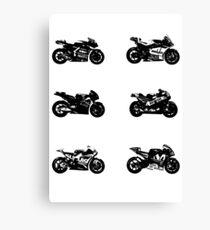 MotoGP 2017 Bikes Canvas Print