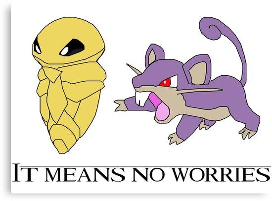 Hakuna matata - Pokémon Edition by Elon Svärdhagen