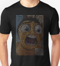2e1600fe6 bee movie script Slim Fit T-Shirt