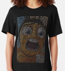Bienenfilm-Skript Slim Fit T-Shirt