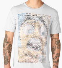 bee movie script Men's Premium T-Shirt