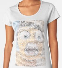 bee movie script Women's Premium T-Shirt