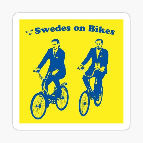 Swedes on Bikes Sticker