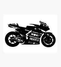 Aprilia RS GP 2017 MotoGP Bike Photographic Print