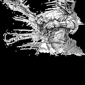 Crank (White Outline) by vinniericasio