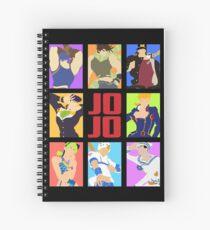 JoJo's Bizarre Adventure - Heroes Spiral Notebook