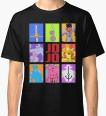 JoJo's Bizarre Adventure - Stands and Weapons Classic T-Shirt