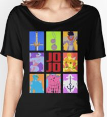 JoJo's Bizarre Adventure - Stands and Weapons Women's Relaxed Fit T-Shirt