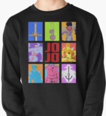 JoJo's Bizarre Adventure - Stands and Weapons Pullover