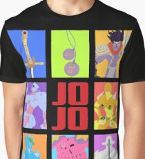 JoJo's Bizarre Adventure - Stands and Weapons Graphic T-Shirt