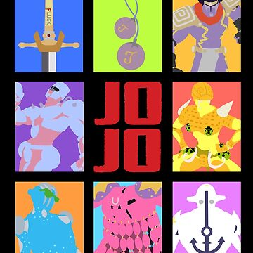 JoJo's Bizarre Adventure - Stands and Weapons by spyrome876