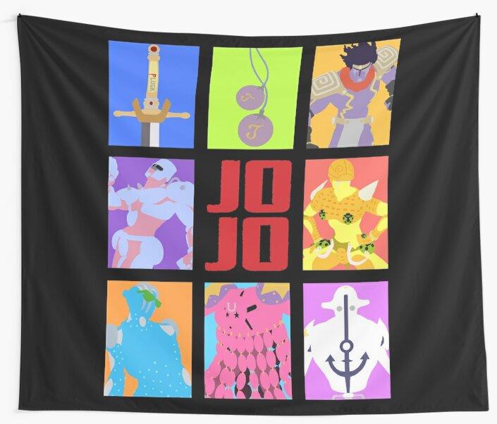 «JoJo's Bizarre Adventure - Stands y armas» de spyrome876