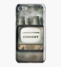 Manufacturing Consent iPhone Case/Skin
