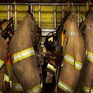Firefighter - Bunker Gear by Michael Savad