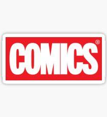 Comics Sticker