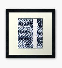 Missing Knit  Framed Print