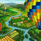 River Balloons by Karen Amato