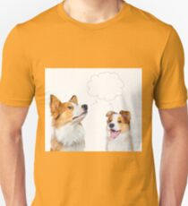 Border collie adult and puppy  Unisex T-Shirt