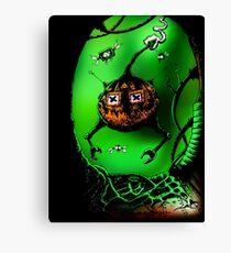 Pumpkin's Revenge Canvas Print