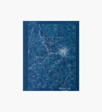 Massachusetts  USGS Historical Topo Map MA Lowell 352811 1893 62500 Inverted Art Board
