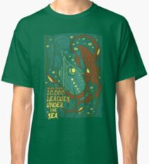 20,000 Leagues Under the Sea Classic T-Shirt