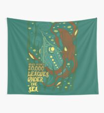 20,000 Leagues Under the Sea Wall Tapestry