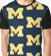 UMich Floral Graphic T-Shirt
