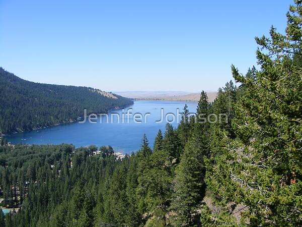 Wallowa lake by Jennifer Johnson