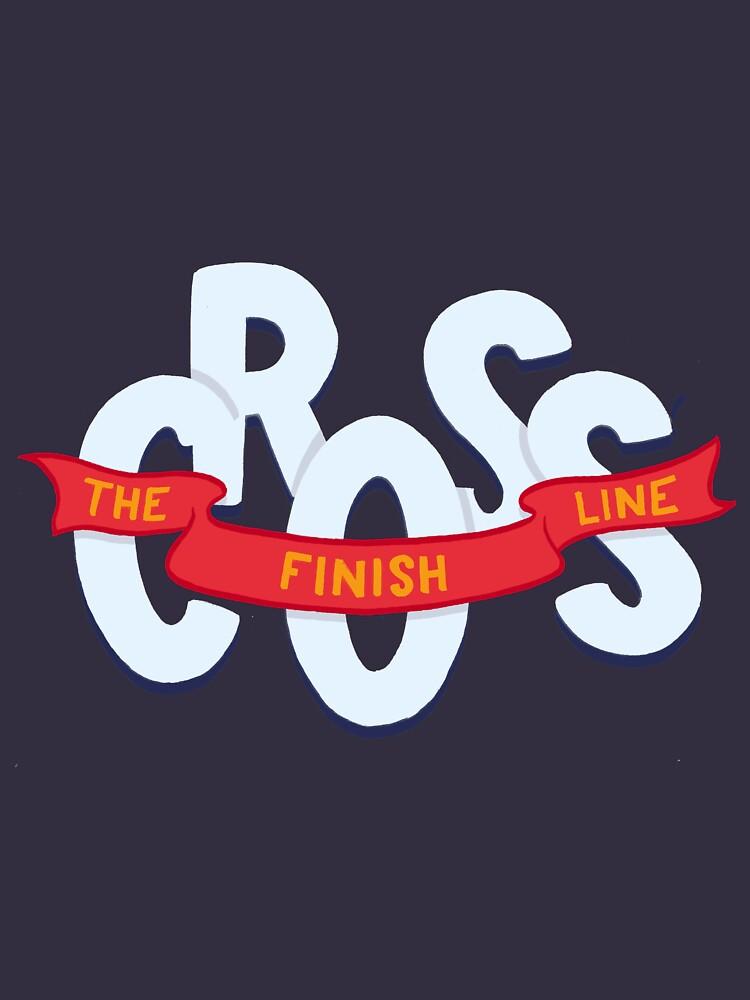 Cross the finish line by romaricpascal