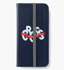 Cross the finish line iPhone Wallet/Case/Skin