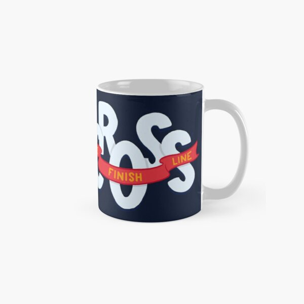 Cross the finish line Classic Mug