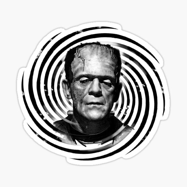 Classic Frankenstein Sticker