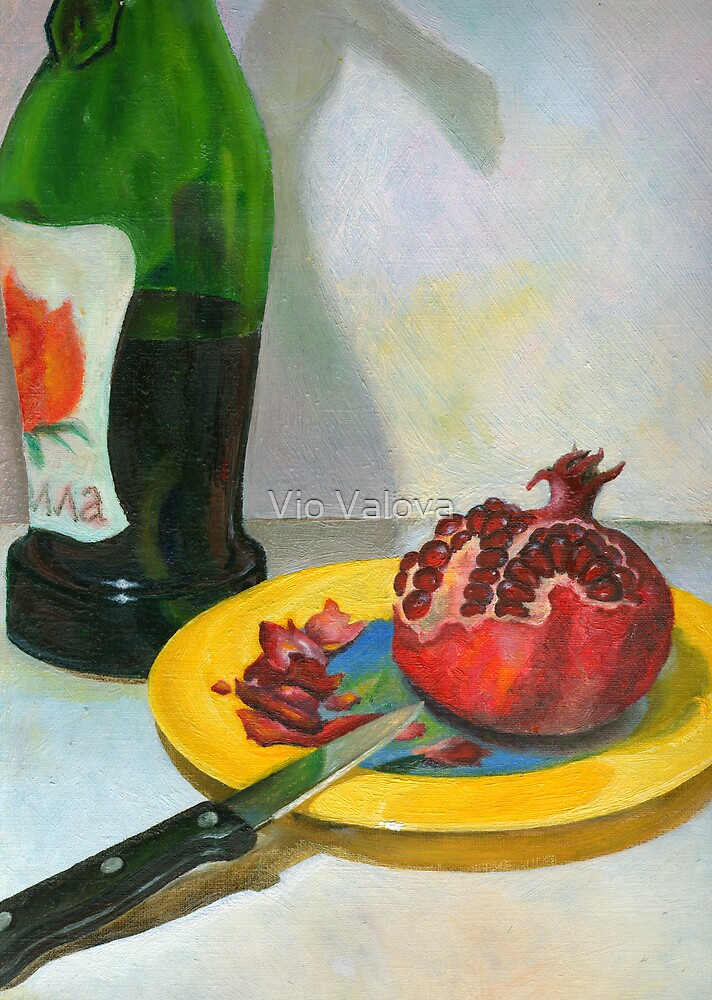 pomegranate & wine by VioDeSign