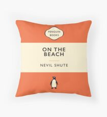 Penguin Classics On the Beach Throw Pillow