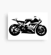 Suzuki GSX-RR 2017 MotoGP Bike Canvas Print