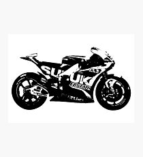 Suzuki GSX-RR 2017 MotoGP Bike Photographic Print